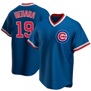 Men's Chicago Cubs Koji Uehara Royal Road Cooperstown Collection Jersey - Replica
