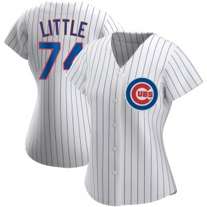 Women's Chicago Cubs Brendon Little White Home Jersey - Authentic