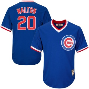Youth Majestic Chicago Cubs Jerome Walton Royal Blue Cool Base Cooperstown Collection Jersey - Authentic