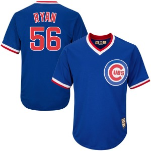 Youth Majestic Chicago Cubs Kyle Ryan Royal Blue Cool Base Cooperstown Collection Jersey - Replica
